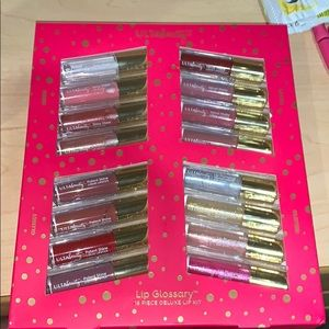 🆕 Ulta Beauty 16 pc Lip Glossary Lipstick Deluxe